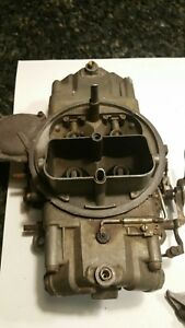 Oem Gm Holley Carb List 3367 1966 Corvette 327 300hp 350hp L79 Dated 5a3