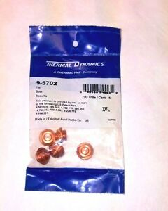 Thermal Dynamics 9 5702 Air Tip For Pch 52 pcm 52 Plasma Torch sold 5 Per Pack