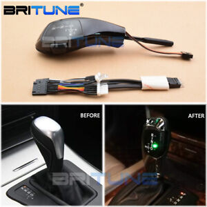 Black Automatic Led Gear Shift Knob For Bmw E39 E46 E53 E60 E63 E87 E90 E92 X5