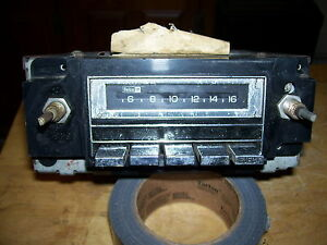 1970 S To Early 80 S Vintage Gm Chevy Am 8 Track Delco Radio
