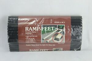Solid Rubber Non Skid Ramp Feet For 2x12 Boards Universal Industrial Products In