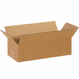 75 14 X 6 X 4 Corrugated Shipping Boxes Storage Cartons Moving Packing Box