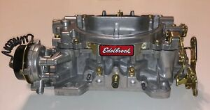 Edelbrock Remanufactured Carburetor 600 Cfm Electric Choke 1406