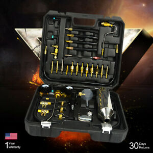 Automotive Car Fuel Injector Washing Tools Air Injection Nozzle Cleaner Set Udw