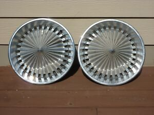 Vintage Custom Hubcap Wheel Covers Hot Rat Rod Kustom Oem Plymouth 70s Accessory