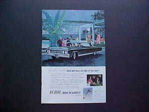 1964 Oldsmobile Ninety Eight Vintage 64 Ad From Nice Private Estate 64 Olds 98