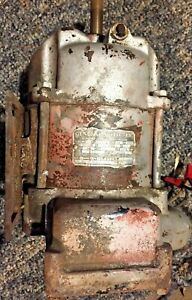 Ge Gas Pump Motor 1 3 Hp 1725 Rpm Antique Explosion Proof Spark proof Electric