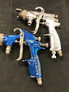 Devilbiss Compact Hvlp Pressure Feed Spray Gun Binks 2100 Spray Gun Free S