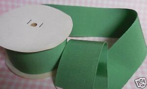 Bty Antique Vintage Lovely 2 1 8 Pastel Green Cotton Rayon Grossgrain Ribbon