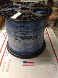 12 Awg 2000 Roll 1c Solid Bc Nylon Pvc Unshielded Thhn thwn 2 Wire eup