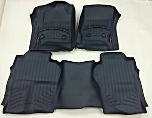 Weathertech Custom Car Truck Floor Mat Floorliner 446071 445423 Front And Rear