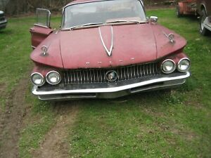 60 Buick Lesabre Front Bumper Core Needs Re plate Re chrome 1960