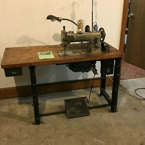 Pfaff 145 Walking Foot Leather Upholstery Sewing Machine