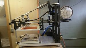 Systematic Automation Model 810 Automatic Clamshell Screen Printer
