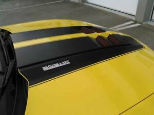 Zl1 Tl1 Style Fiberglass Hood Bonnet With Air Duct For 10 15 Chevrolet Camaro