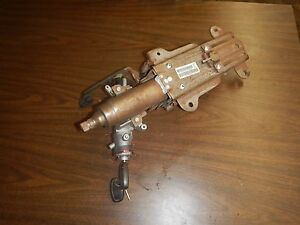 Jeep Wrangler Tj 2001 Tilt Steering Column W Key Free Ship