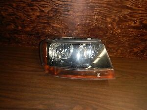 Jeep Grand Cherokee Wj 99 04 Oem Used Passenger Head Light Free Shipping