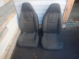 Jeep Wrangler Cj Yj 76 95 Aftermarket Bestop Front Seat Pair Free Ship