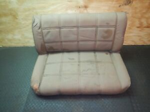Jeep Cj 76 86 Rear Rare Levi Rear Stationary Seat Free Shipping