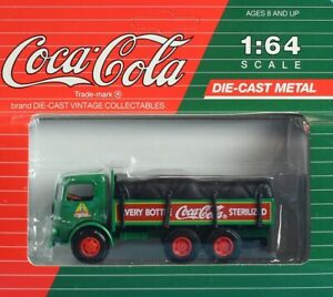 Coca Cola 1:64 S Scale Every Bottle Sterilized Truck Built Model #CO2041