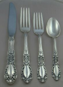 Alvin Prince Eugene Sterling Silver Four 4 Piece Setting