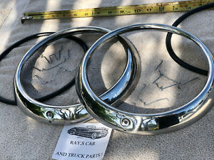 New Complete Set Of 1947 To 1953 Chevrolet Truck Replacement Head Light Rings