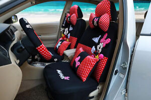 New 1 Sets Auto Four Seasons Luxury Cute Cartoon Mickey Mouse Car Seat Cover 802