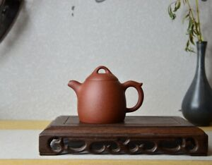 Good Clay Chinese Yixing Zisha Clay Handmade Qinquan Teapot 140cc