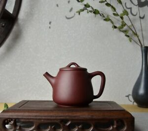 Good Clay Chinese Yixing Zisha Clay Handmade Tall Shipiao Teapot