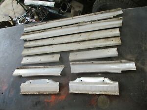 63 64 65 66 Dodge Dart 4 Door Station Wagon Interior Door Threshold Sill Plates