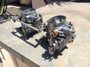 Mercedes Benz 220s Dual 2 Barrel Solex Carburetors