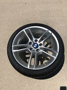 18 Bmw Oem M Sport Wheels Tires Staggered Set Of 4 Mint Condition