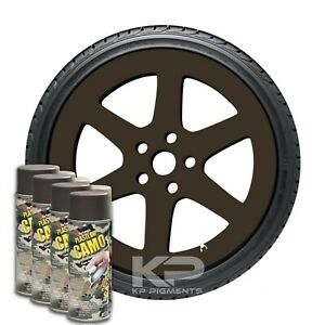 Plasti Dip Camo Brown Rubber Coating Aerosol Spray Cans 11 Oz 4 Pack Wheel Kit