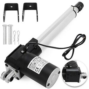 Dc 12v Linear Actuator 1320lb 6000n 200mm For Auto Car Lift Heavy Duty Medical