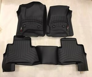 Weathertech Floorliner Floor Mats Chevy Tahoe Gmc Yukon 2015 2018 1st And 2nd