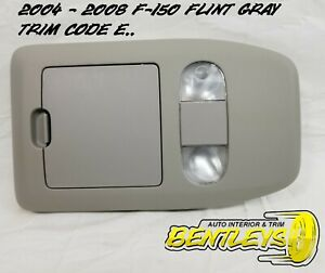 2004 2005 2006 2007 2008 Ford F 150 Overhead Console Roof Dome Map Light Gray