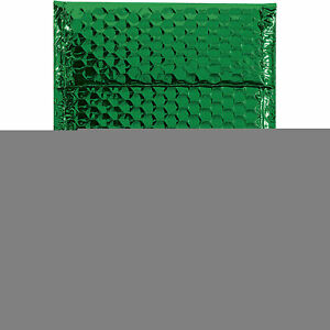 Glamour Bubble Mailers Self seal 7 1 2 X 11 Green 72 Pack Gbm0711g Lot
