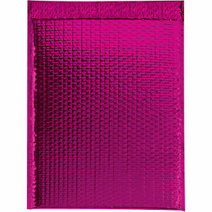 Glamour Bubble Mailers Self seal 16 X 17 1 2 Pink 48 Pack Gbm1617pk Lot