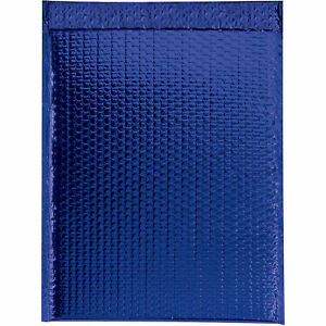 Glamour Bubble Mailers Self seal 16 X 17 1 2 Blue 48 Pack Gbm1617b Lot