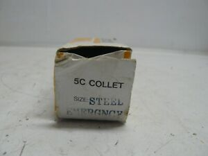 5c Collet Steel Emergency 1 462 Inch Round Tip X 3 412 Inches Long New