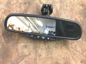 2006 Chevy Trailblazer Rear View Mirror W Onstar Compass 2006 2009