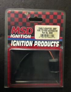 Msd Ignition Cable Adapter Fem To Ford Distributor P N 8869