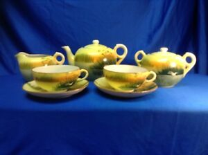 Vintage 1940 S Japanese Tea Set Made In Japan