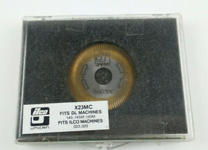 Ilco Unican P x23mc Key Machine Replacement Cutter With Case