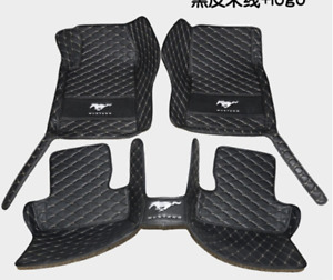 For 2002 2019 Ford Mustang All Models Luxury Custom Waterproof Floor Mats