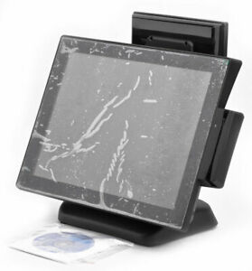 Eb pos Series 15 Touch Screen Lcd Point Of Sale System W 2nd Mini Touch Screen