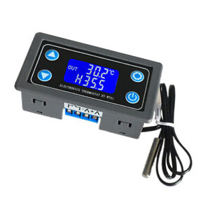 6 30v 10a Relay Digital Led Temperature Controller Thermostat Control Switch