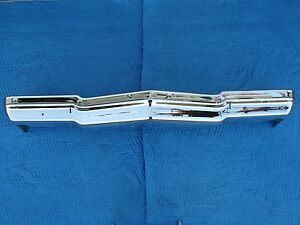 1975 Chevy Impala Front Bumper Triple Chrome Show Quality