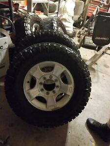 2013 Ford F250 Oem Wheels Excellent With Nitto Grappler Tires Lugs And Caps