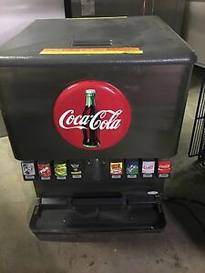 Soda Fountain Pop Dispenser 8 Flavor Carbonator Syrup Pumps Rack
